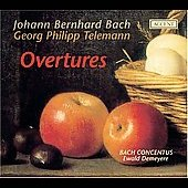 J. B. Bach, Telemann: Overtures / Demeyere, Bach Concentus
