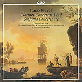 Pleyel: Clarinet Concerti, Sinfonia Concertante for 2 Clarinets / Tewinkel, Kl&ouml;cker, et al