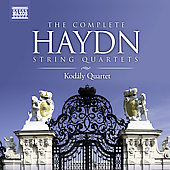 Haydn: The Complete String Quartets / Kod&aacute;ly String Quartet
