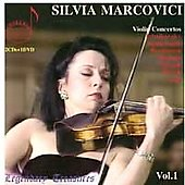 Legendary Treasures - Violin Concertos Vol 1 / Silvia Marcovici, et al