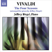 Vivaldi: Four Seasons (Arranged for Piano) / Jeffrey Biegel