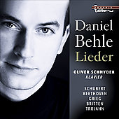 Schubert, Beethoven, Grieg, Britten, Trojahn: Lieder / Daniel Behle, Oliver Schnyder