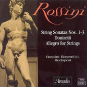 Rossini: String Sonatas Nos. 1-3; Donizetti: Allegro for Strings