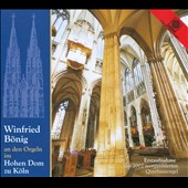 Winfried B&#246;nig an den Orgeln im Hohen Dom zu K&#246;ln