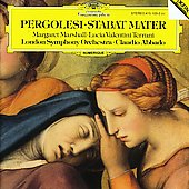 Pergolesi: Stabat Mater /Abbado, Marshall, Valentini-Terrani