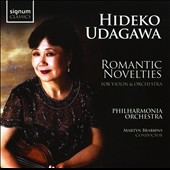 Romantic Novelties / Martyn Brabbins. Hideko Udagawa, violin