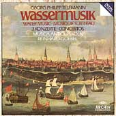 Telemann: Water Music, etc / Goebel, Musica Antiqua Köln