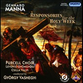Gennaro Mann: Responsories For The Holy Week