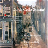 Dutch Cello Sonatas, Vol. 3 / Doris Hochscheid