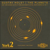 Gustav Holst: The Planets, for piano 4 hands / York2 - Fiona and John York, pianos