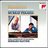 Beethoven: The Five Piano Concertos / Perahia, Haitink