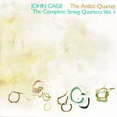 John Cage Edition - The Complete String Quartets Vol 1