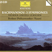 Rachmaninov: Symphonies no 1-3, The Rock / Maazel, Berlin PO