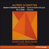 Alfred Schnittke - Chamber Music vol. 2: Quartet & Quintet with Piano; String Trio / Louise Bessette, piano