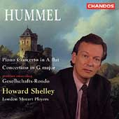 Hummel: Piano Concertos / Shelley, London Mozart Players