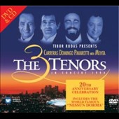 3 Tenors in Concert 1994 [20th Anniversary] [CD+DVD] / Luciano Pavarotti, Placido Domingo, José Carreras