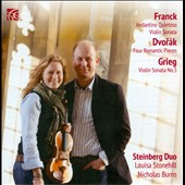 Franck, Dvorák & Grieg: Works for Violin & Piano / Steinberg Duo