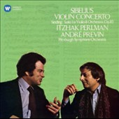 Sibelius: Violin Concerto; Sinding: Suite for Violin & Orchestra / Itzhak Perlman, violin; Pittsburgh SO; Previn