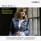 Khachaturian: Flute Concerto; Rautavaara: Concerto for Flutes & Orchestra 'Dances with the Winds' / Sharon Bezaly, flute.