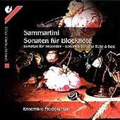 G. Sammartini: Sonatas f&#252;r Blockfl&#246;te / Mediolanum Ensemble