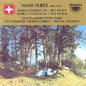 Huber: Piano Concertos no 1 & 3 / Franklin Smith, Jurowski