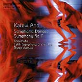 Aho: Symphonic Dances, Symphony no 11 / Vänskä, Lahti SO
