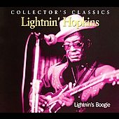 Lightnin' Hopkins: Lightnin's Boogie [Just a Memory] [Digipak]