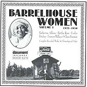 Various Artists: Barrelhouse Women, Vol. 1 (1925-1930)