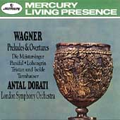 Wagner: Preludes & Overtures / Dorati, London SO
