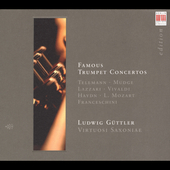 Mudge, Lazzari, Telemann: Trumpet Concertos / G&#252;ttler, et al