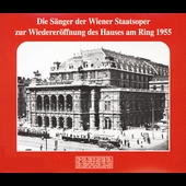 Reopening of the Vienna State Opera - 1955 / Goltz, et al