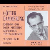 Wagner: G&ouml;tterd&auml;mmerung / Sawallisch, Cox, Kniplova, et al