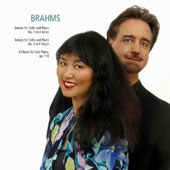 Brahms: Sonatas for Cello & Piano / David Finckel, cello; Wu Han, piano