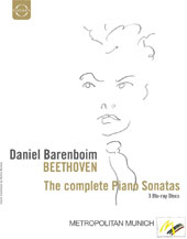 Daniel Barenboim plays Beethoven - the Complete Piano Sonatas [3 Blu-Ray]