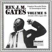 Reverend J.M. Gates: Rev. J.M. Gates, Vol. 8: 1930-1934