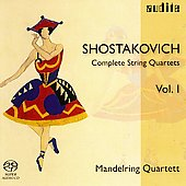 Shostakovich String Quartets Vol 1 / Mandelring Quartet