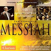 Handel: Messiah (complete) / Apollo Chorus of Chicago, et al