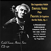 The Legendary Violist Emanuel Vardi plays Paganini