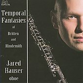 Temporal Fantasies - Britten, Hindemith / Jared Hauser