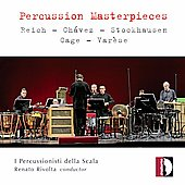 Percussion Masterpieces - Reich, Stockhausen, Cage, etc / Rivolta, I Percussionisti della Scala