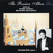 The Russian Album - Scriabin, Taneyev, Blumenfeld, Rachmaninov / Nicholas Roth