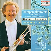 Baroque Trumpet Concertos / Friedrich, Budapest Strings