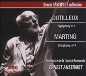 Dutilleux: Symphony No. 1; Martinu: Symphony No. 4