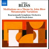 Bliss: Meditations On Theme By John Blow; Metamorphic Variations