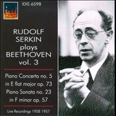 Rudolf Serkin Plays Beethoven, Vol. 3