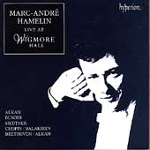 Marc-André Hamelin live at Wigmore Hall - Alkan, Busoni, etc