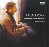 Kabalevsky: Piano Sonatas Nos. 1-3
