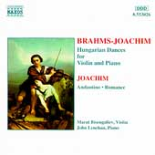 Brahms/Joachim: Hungarian Dances, etc / Bisengaliev, Lenehan