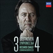 Beethoven: Symphonies Nos. 3 & 4 / Riccardo Chailly