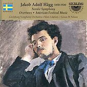 H&#228;gg: Nordic Symphony, Overtures, etc / Nilson, Liljefors